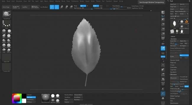 Створення high poly рослинності в ZBrush від Liz Kirby