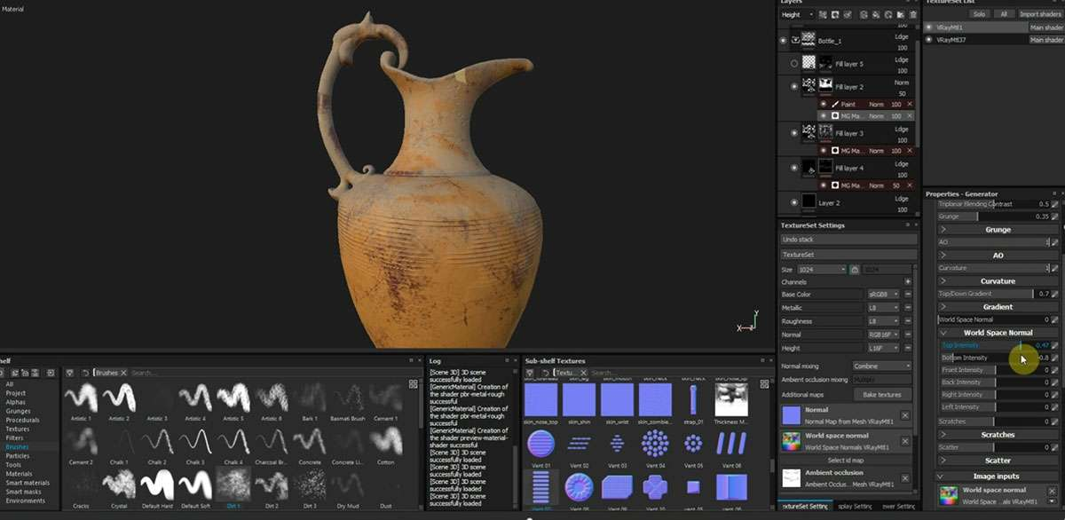 Making of «Bottles of Life»