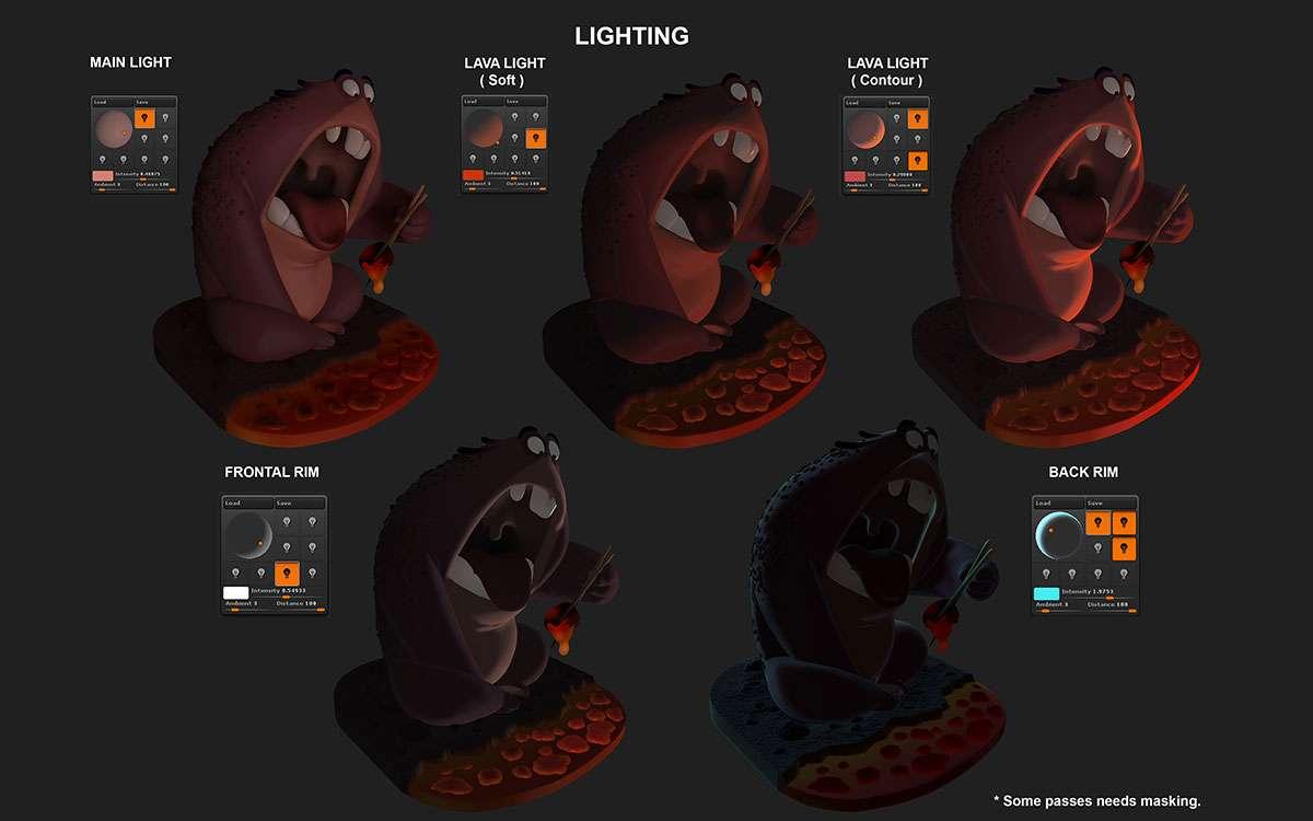 Створення «Лава-монстра» від Jose Rodriguez