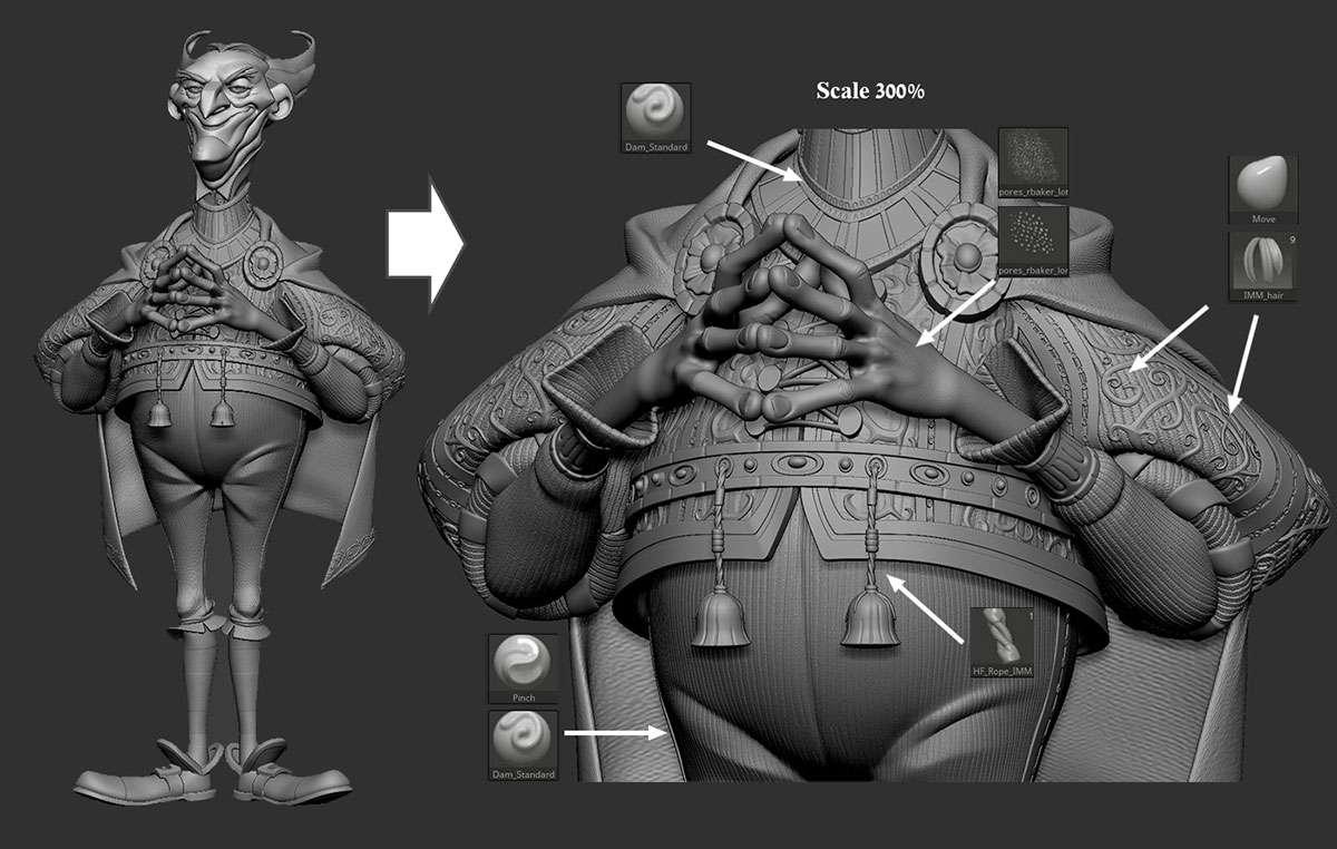Створення «Злого радника» від Arik Newman