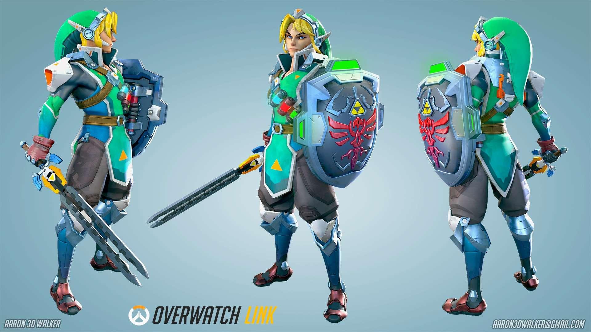 Створення Лінка з Overwatch