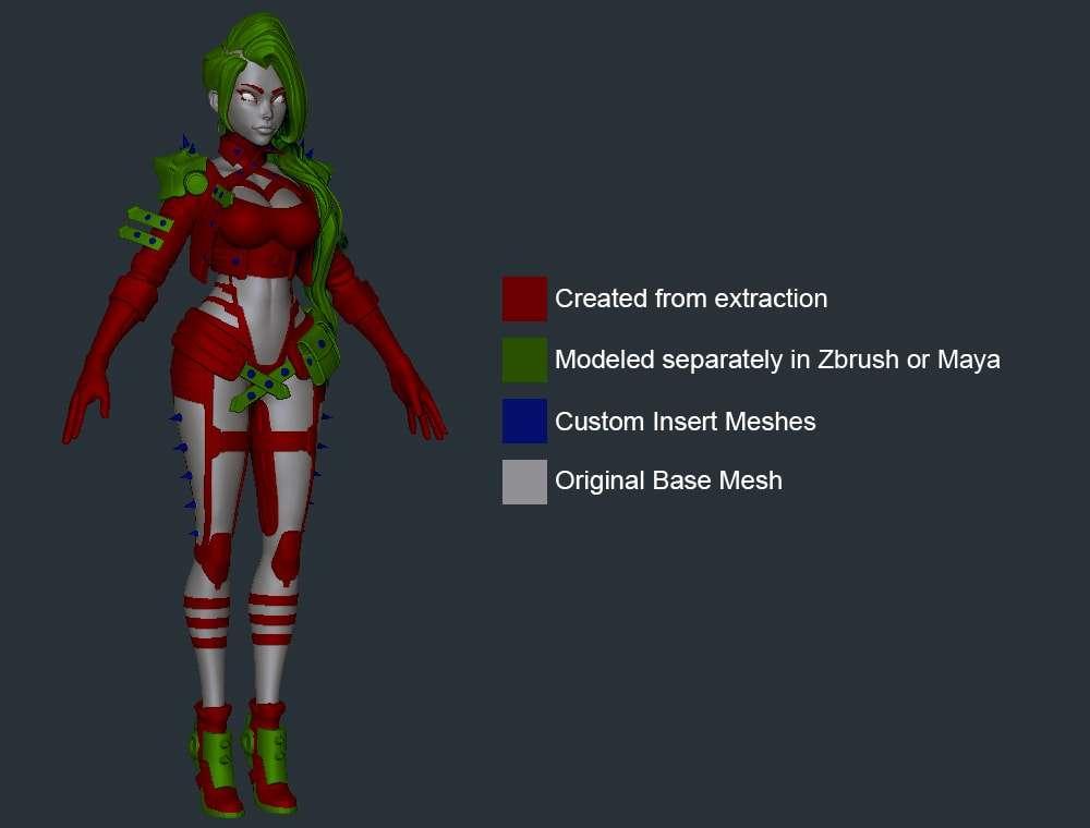 Створення стилізованого персонажа в Maya & ZBrush