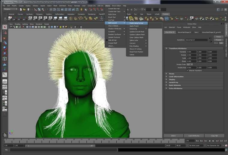 Як створити реалістичну шкіру і зачіску