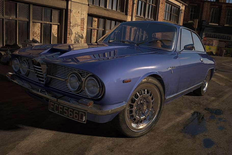 Making Of Alfa Romeo 2600 Sprint