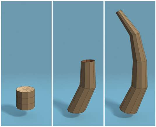 Створення лоупольной 3D-моделі