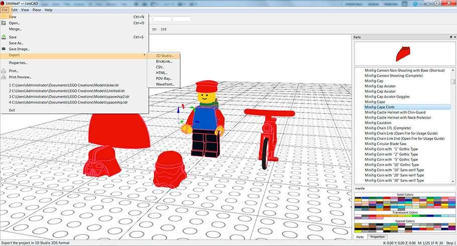 Магія Lego в KeyShot