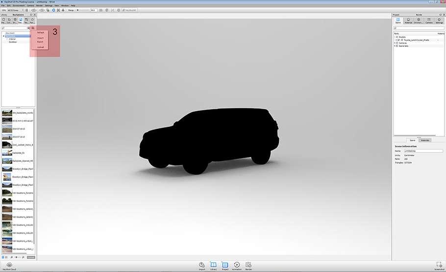 Фотореалістичний рендер в KeyShot