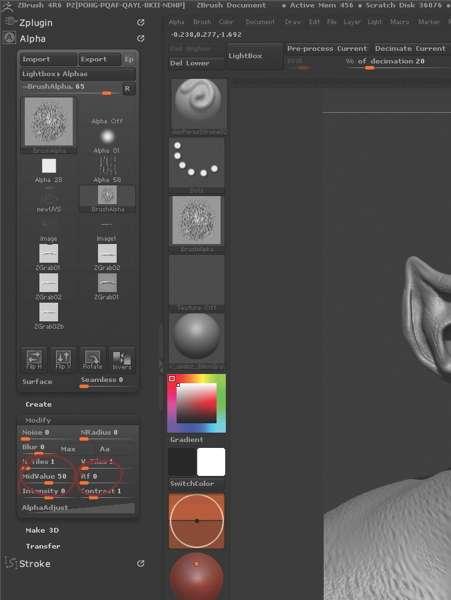 Як створити деталізовану шкіру в ZBrush?