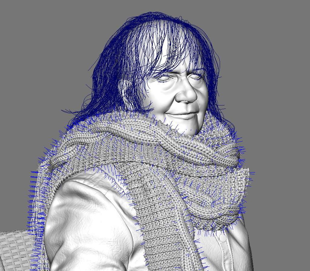 Портрет Памели Спріггс від Ian Spriggs