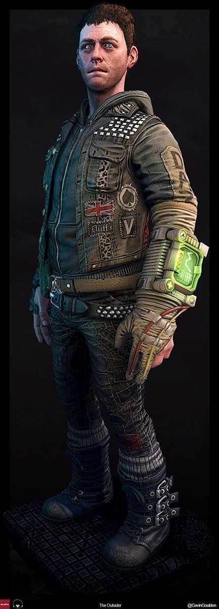 Інтервю з Gavin Goulden, художником по персонажам гри BioShock Infinite