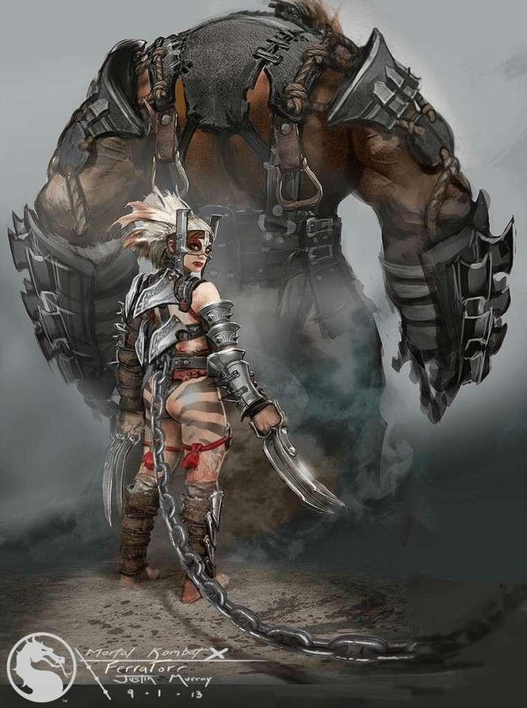 Арт для Mortal Kombat X