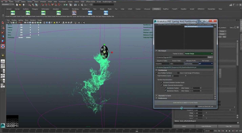 Making of створення частинок для скіпетра Локі