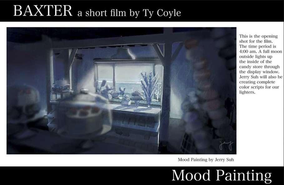 Короткометражка «Baxter»