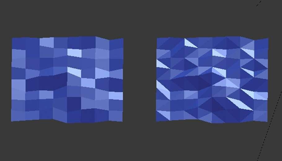 Лоупольная ілюстрація в Blender
