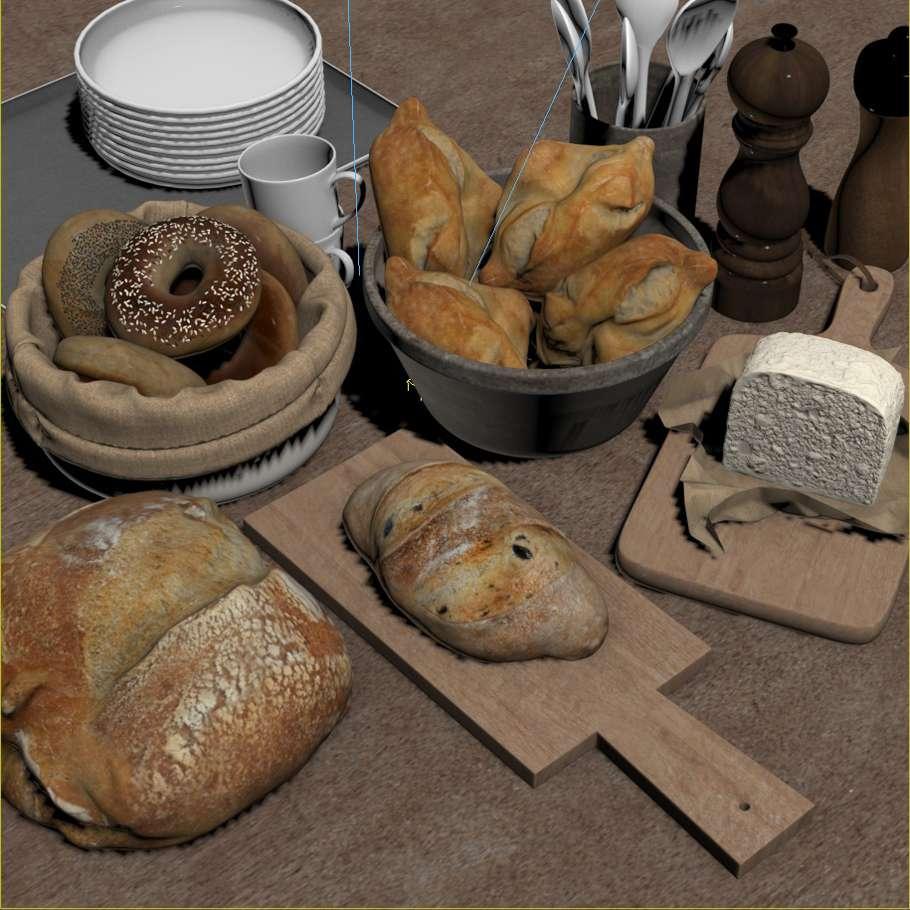 Пара скибочок хліба