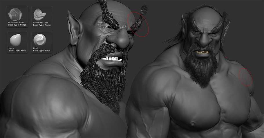 Making of «Demon Hunter»