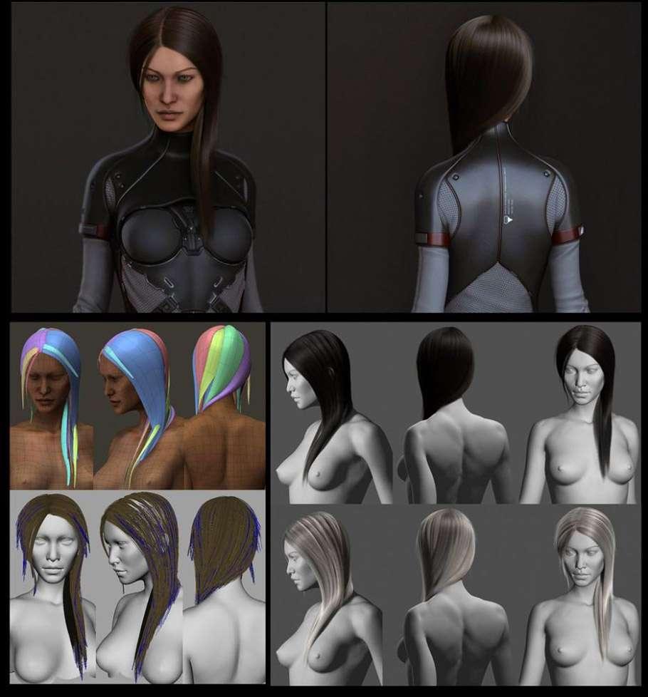 GMH2 – скрипт для створення волосся в Maya від студії ThunderCloud