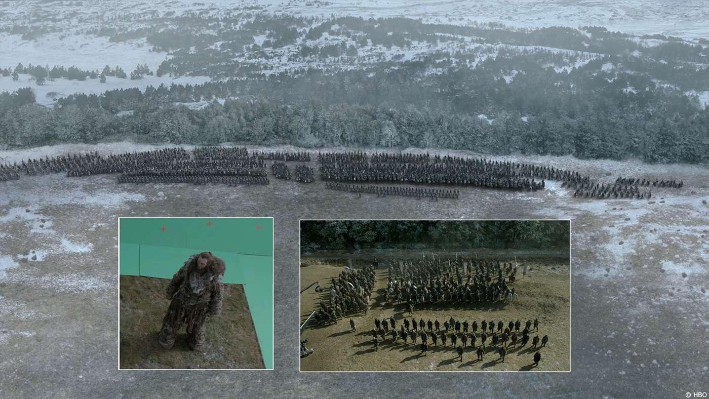 Спецефекти в серіалі «Гра престолів»