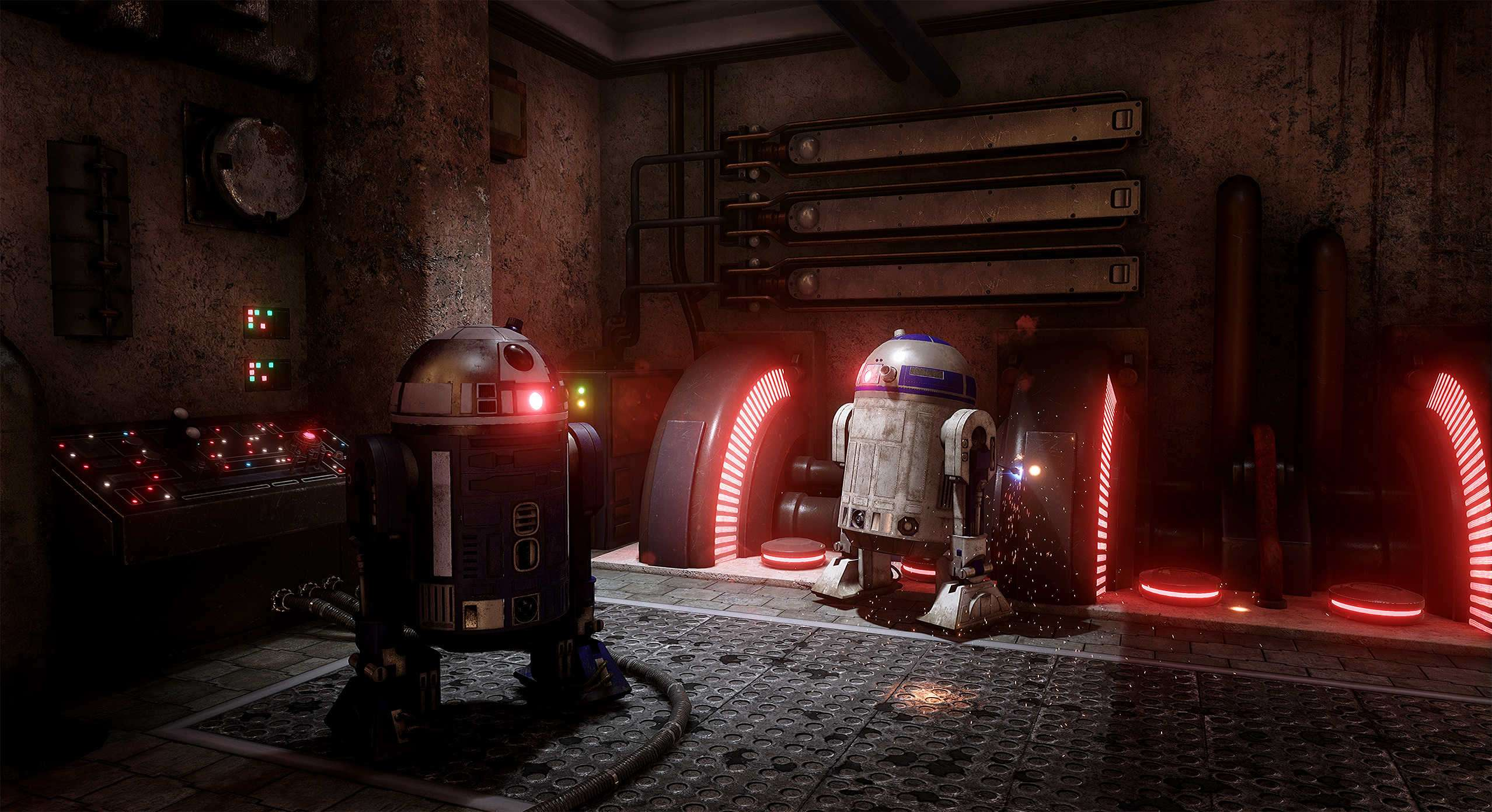 Проект «Star Wars» в Unreal Engine 4