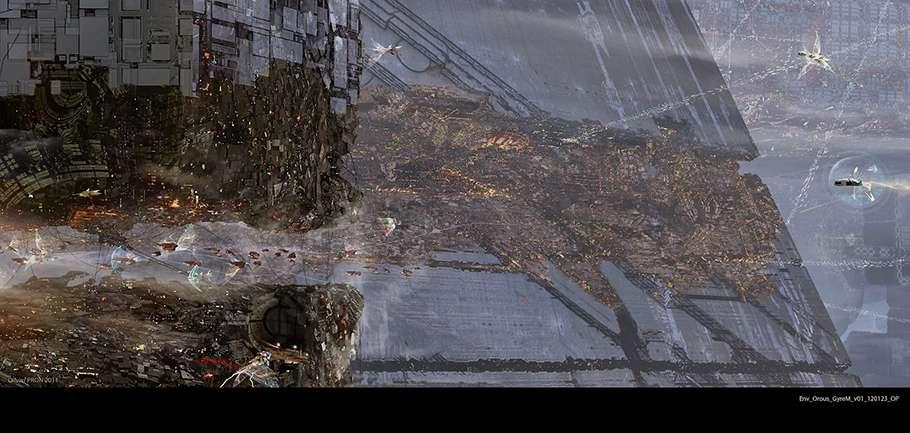 Concept art до фільму «Сходження Юпітер»