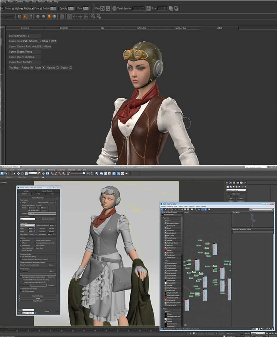 Моделювання 3D-одягу в Marvelous Designer
