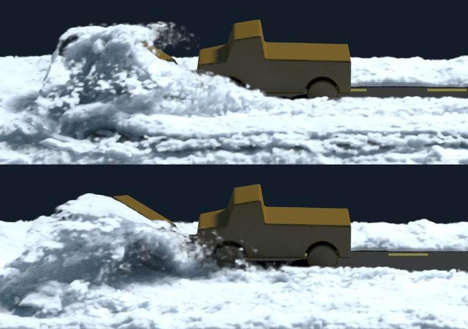 Making of симуляції снігу в диснеївському мультфільмі «Холодне серце»