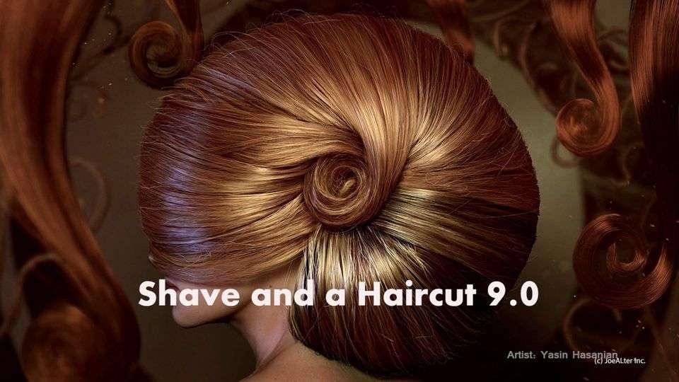 Shave and a Haircut 9.0 для Maya