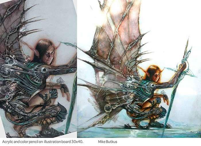 Скетчбук 2D-художника Mike Butkus