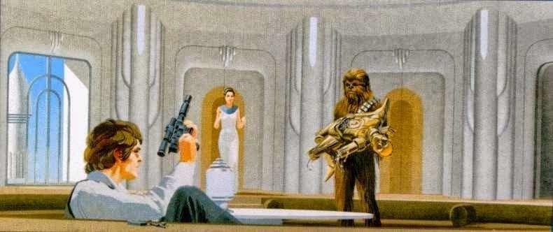 80 концептів для «Star Wars» від Ralph McQuarrie