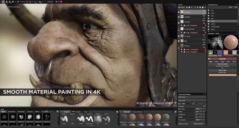 Новинки Substance Painter 1.6