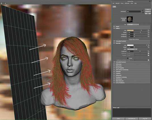 Making of фотореалістичного жіночого портрета
