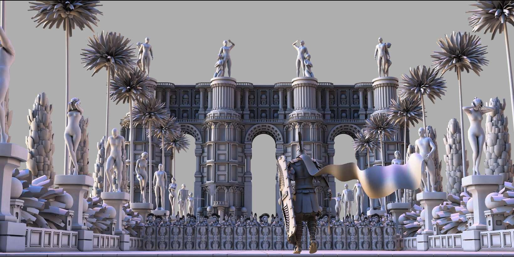 Polybrush для CG — художника