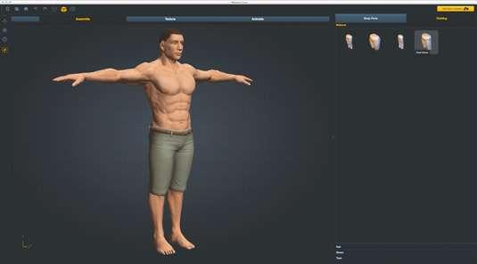 Створюємо 3D-персонажів за допомогою Fuse