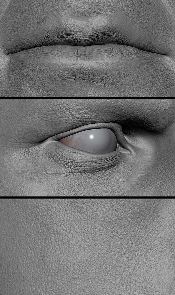 Деталізація шкіри від Peter Zoppi