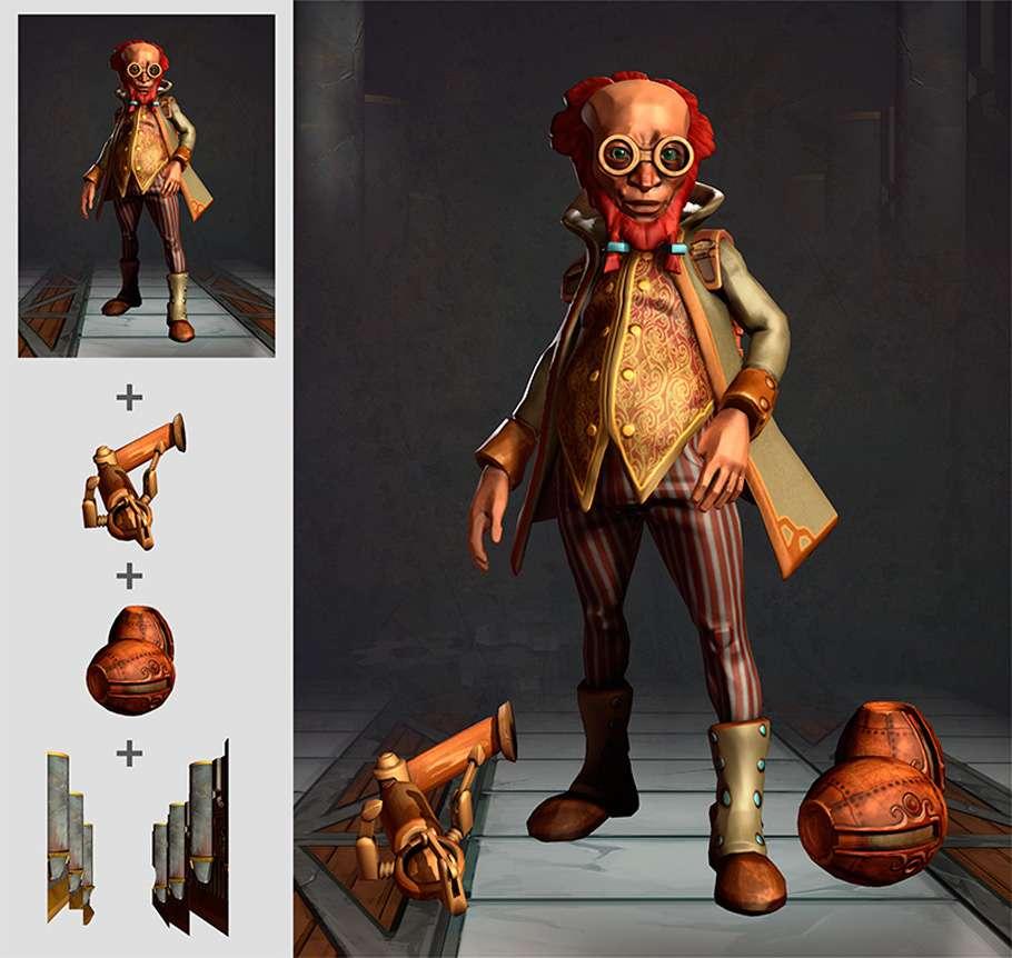 Making of Steampunk Scientist