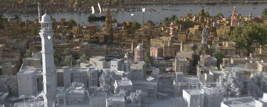 Створення анімації міського пейзажу від The Department Matte