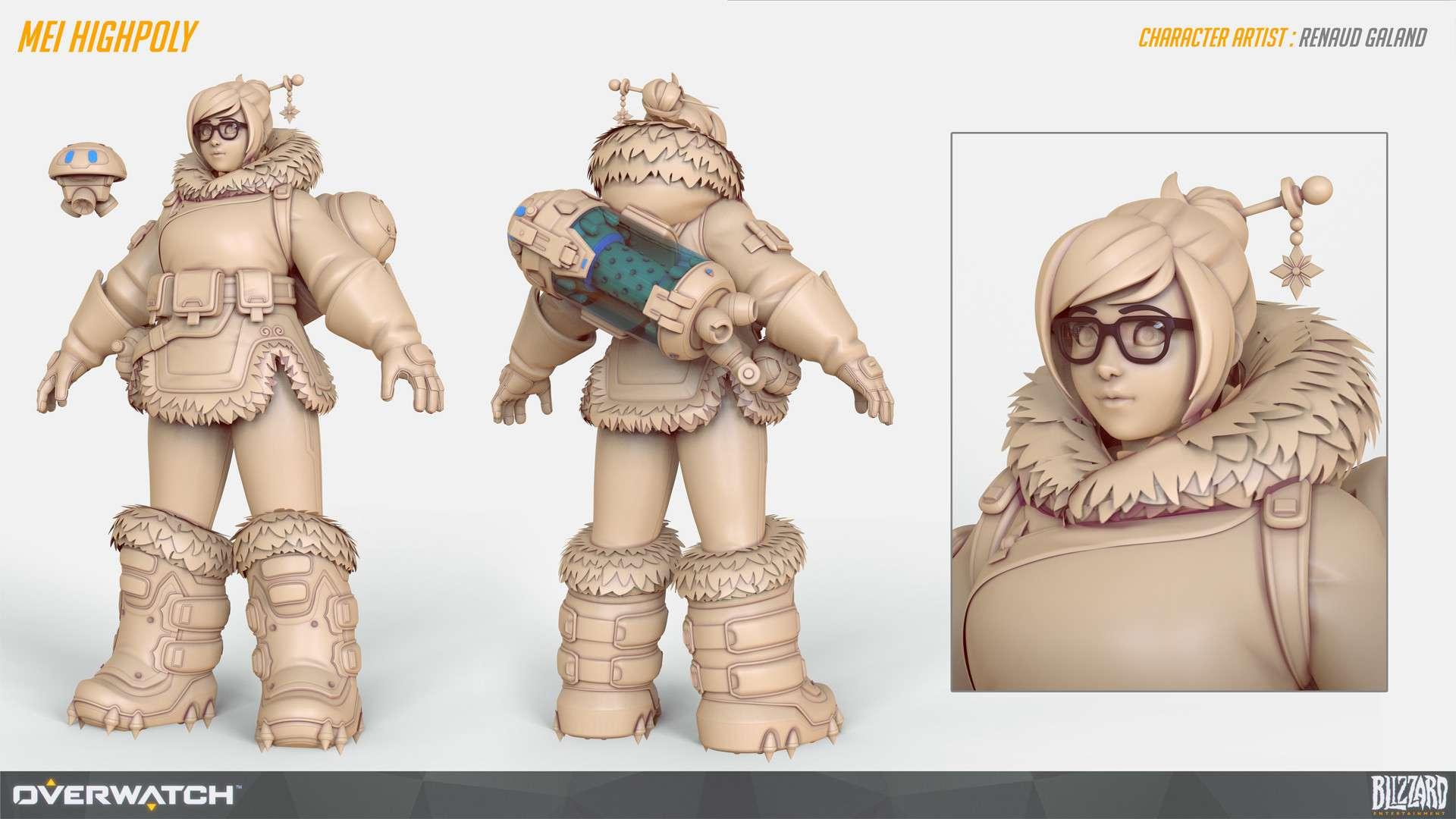 Створення персонажів для AAA-ігор, з Renaud Galand (частина 1)