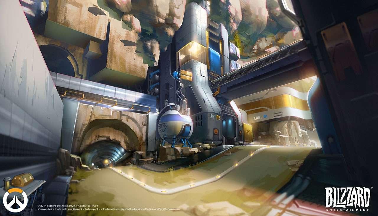«Overwatch» концепт арт