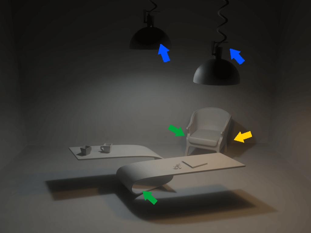 Візуалізація Maya V-Ray (нічний світ)