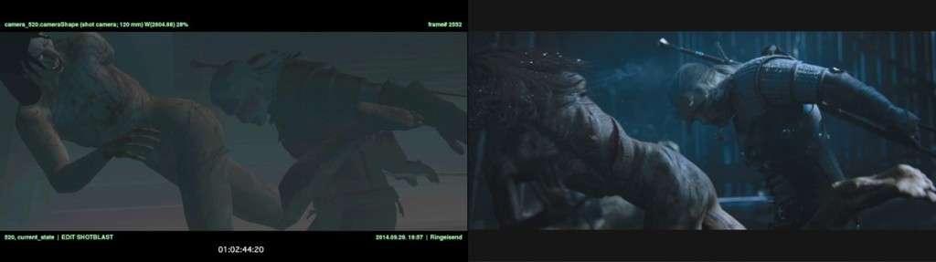 Створення трейлера The Witcher 3: Wild Hunt