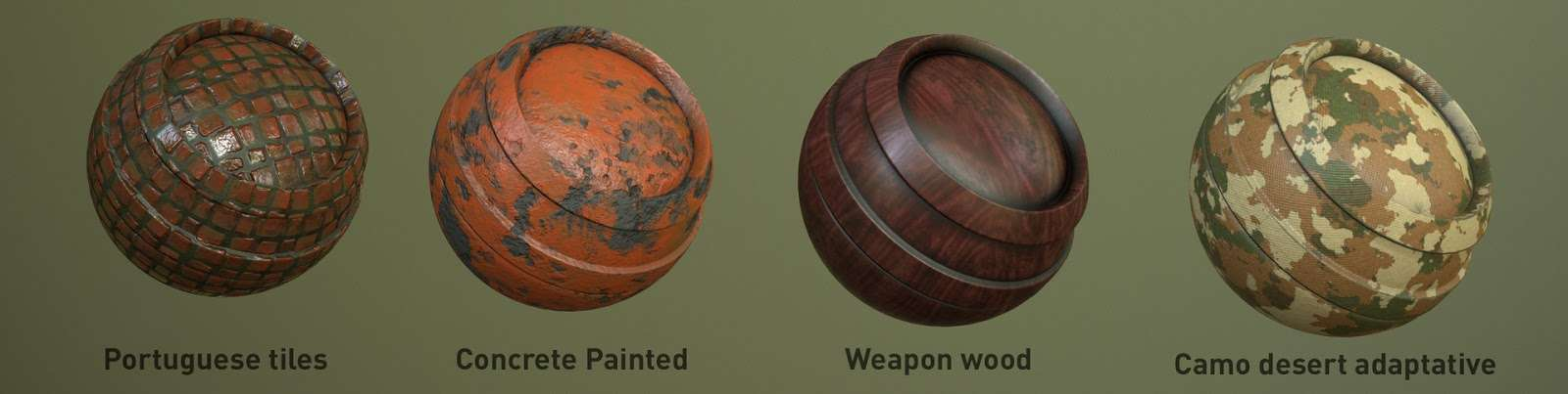 Безкоштовні матеріали для Substance Painter