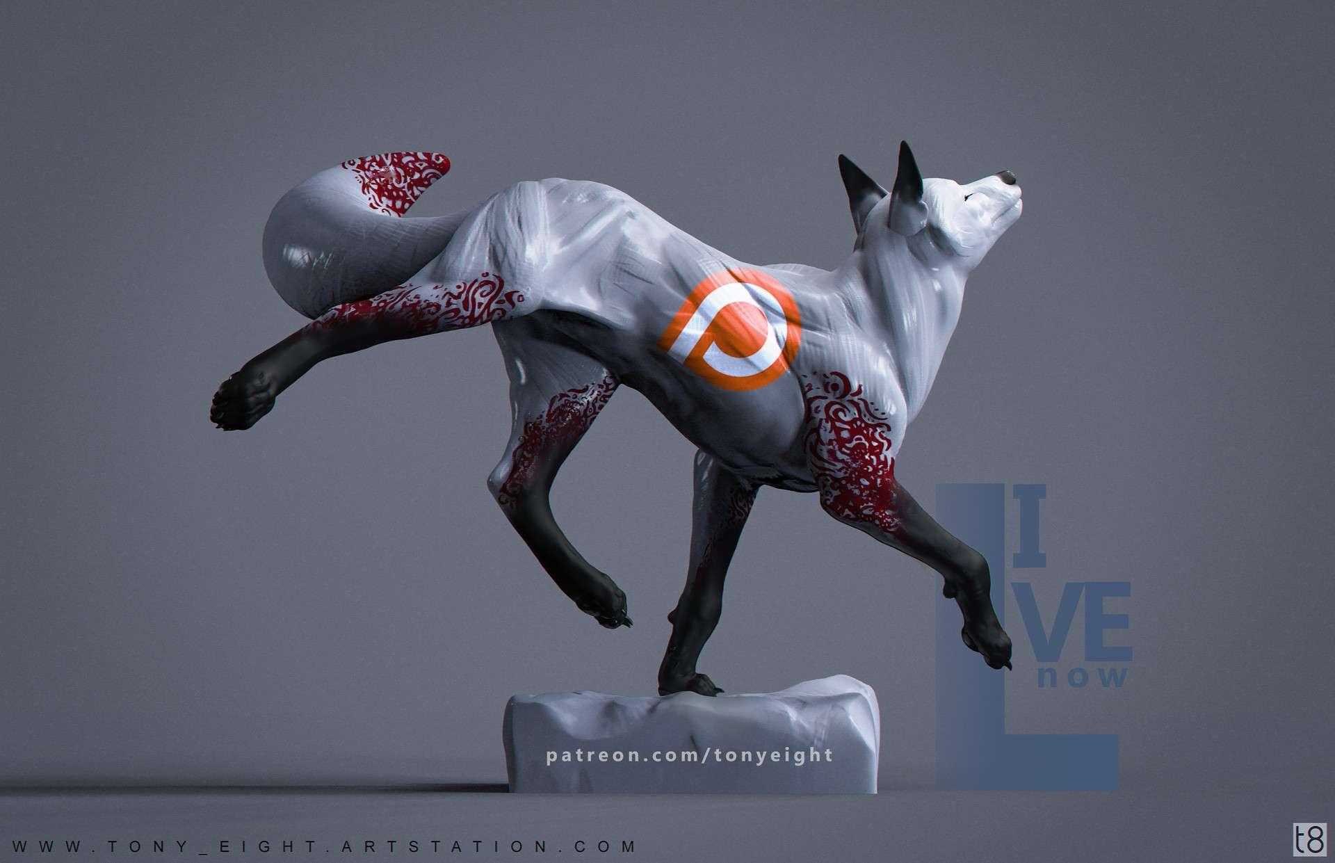 Скульптури тварин від TONY CAMEHL