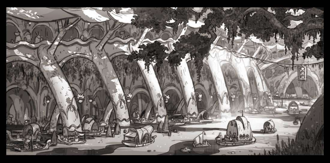 Історія створення концептів до «Зверополису»